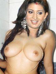 Smriti Irani Nude