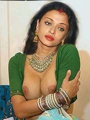 Nude Aishwarya Rai Boobs