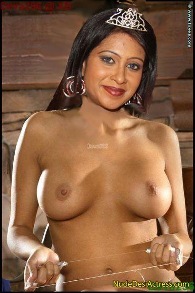 Tamil TV Serial Actress Riya - Nude Desi Actress