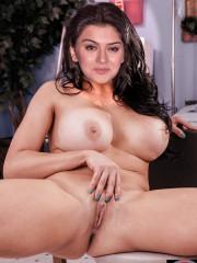 XXX busty whore Hansika Pussy show
