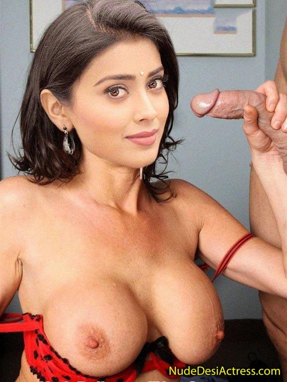 XXX Shriya Saran Nude Giving Blowjob
