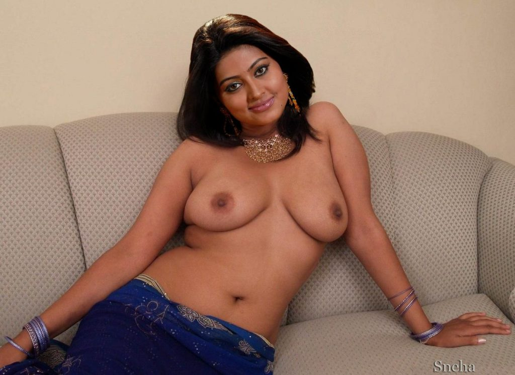 big Boobs sneha topless saree Fake