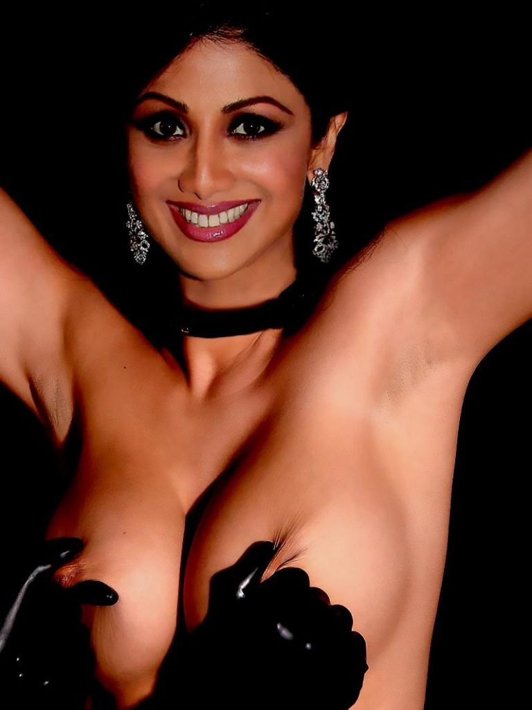 Shilpa Shetty's Semi Nude Photoshoot