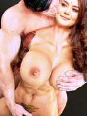 Big fake boobs Preity Zinta pussy fingering naked body photo