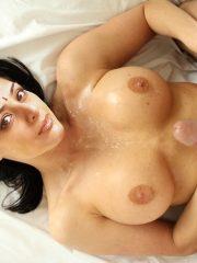 Naked cumshot Mature Tabu jerking of Salman khan cock