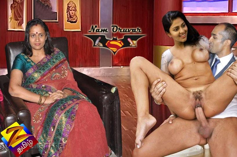 Lakshmy Ramakrishnan seeing Amala Paul pussy fucking sex
