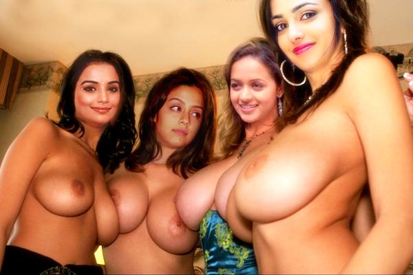 Nude Tamil Cinema Jyothika swetha bavana nithaya boobs