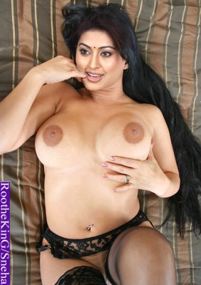 Nude pierced navel Sneha topless hot boobs