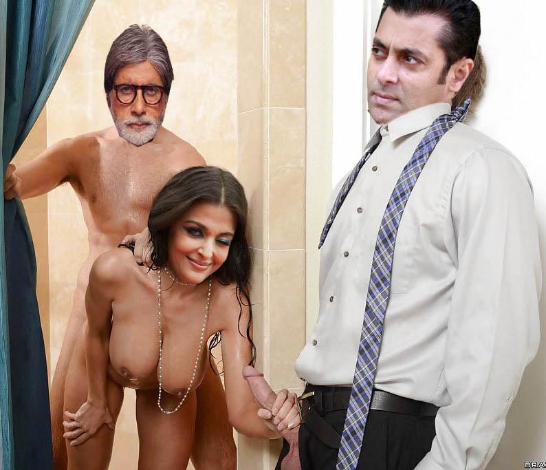 Old Naked Actress Aishwarya Rai Busty Boobs Handjob  Nude -7115
