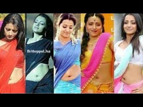 Trisha Krishnan unseen navel | Trisha  deep navel compilation | Trisha hot compilation | Trisha sexy