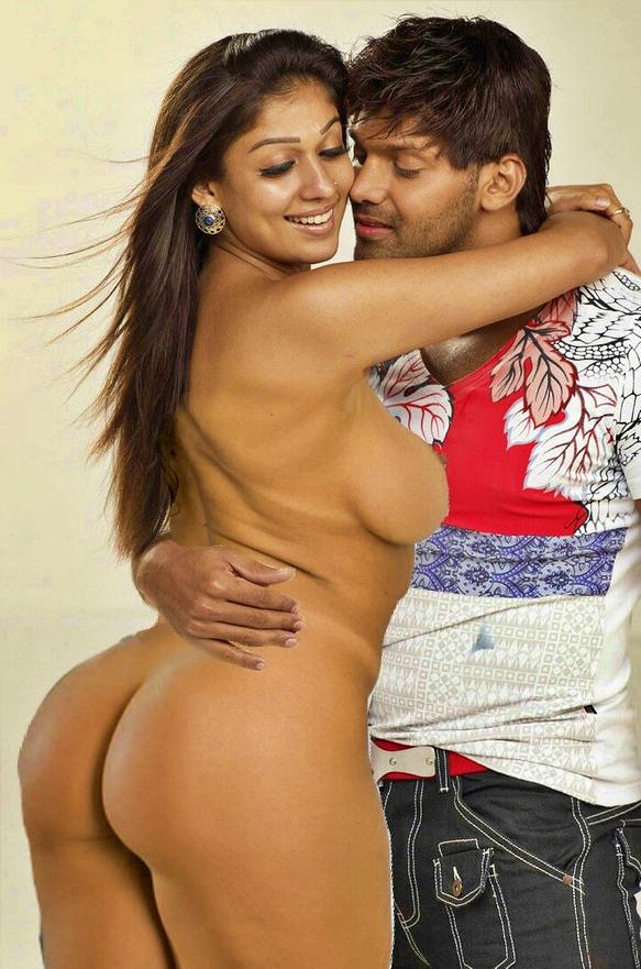 Malayali tamil heroine Nayanthara nude sex with arya xxx 2020 fake photo
